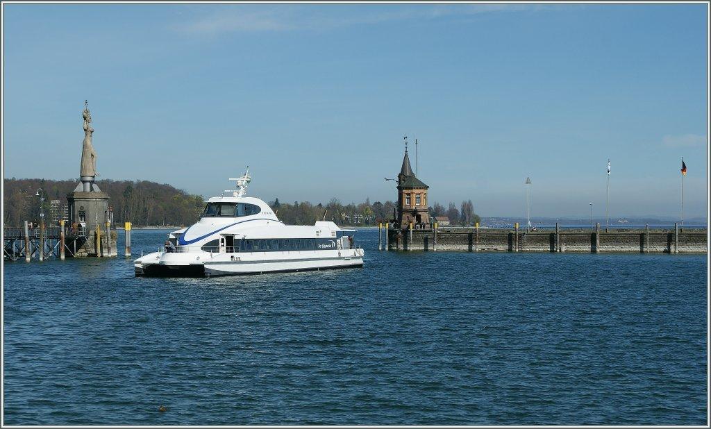 Lake Constance ferry Friedrichshafen - Romanshorn