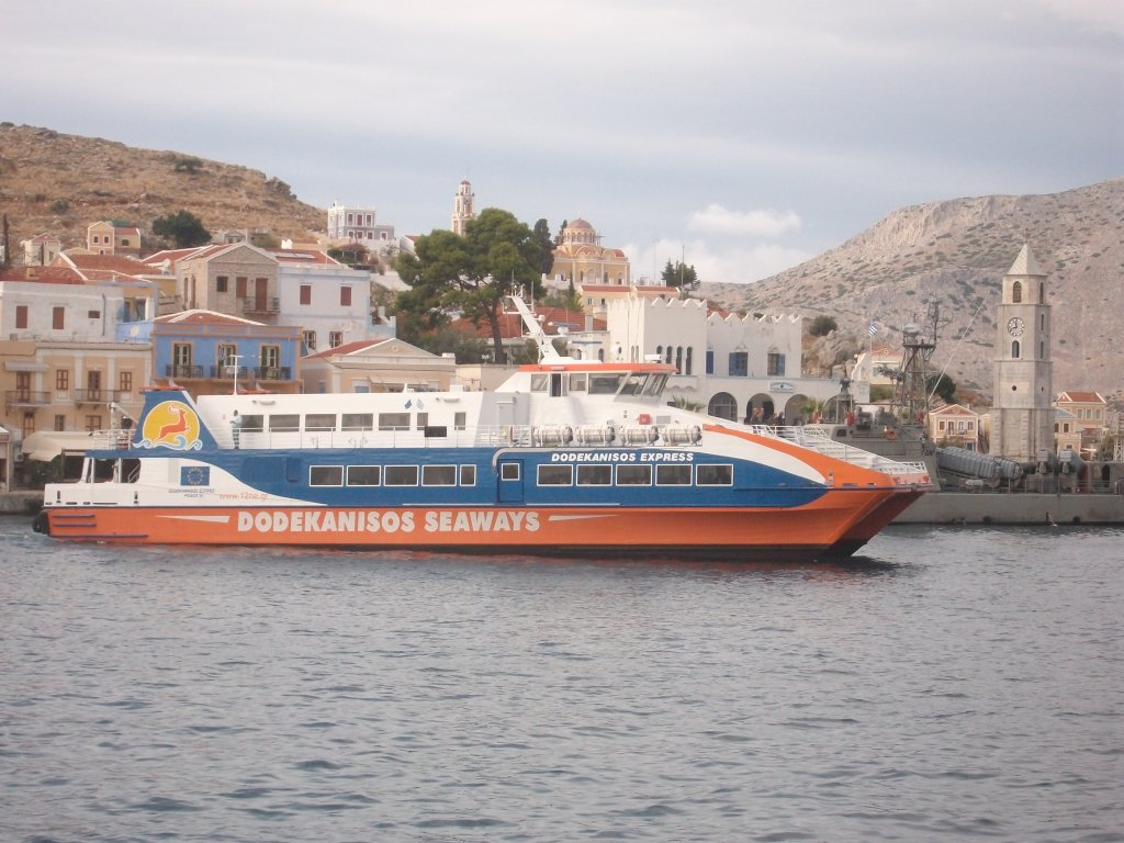 HSC Dodekanasios Express am 17.10.11 in Symi