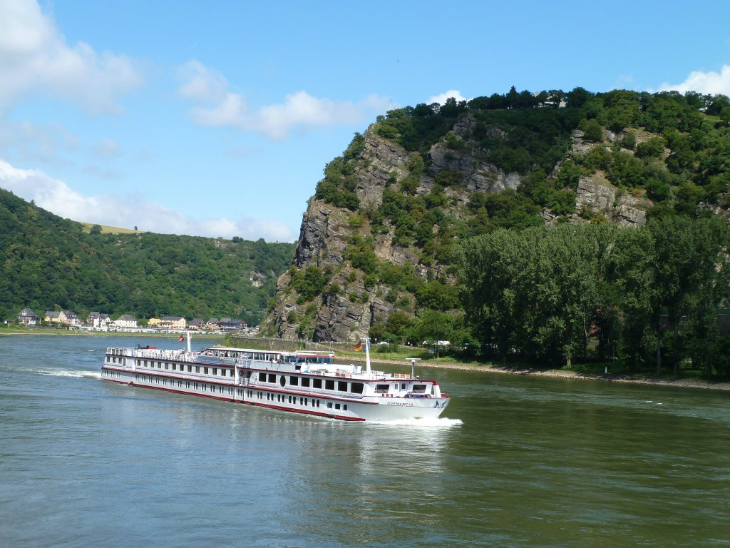 Mittelrhein,  Normandie , an der Loreley, 26.06.2011