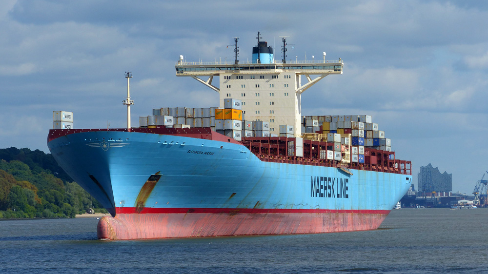 ELEONORA MAERSK  Hamburg am 08.09.2015