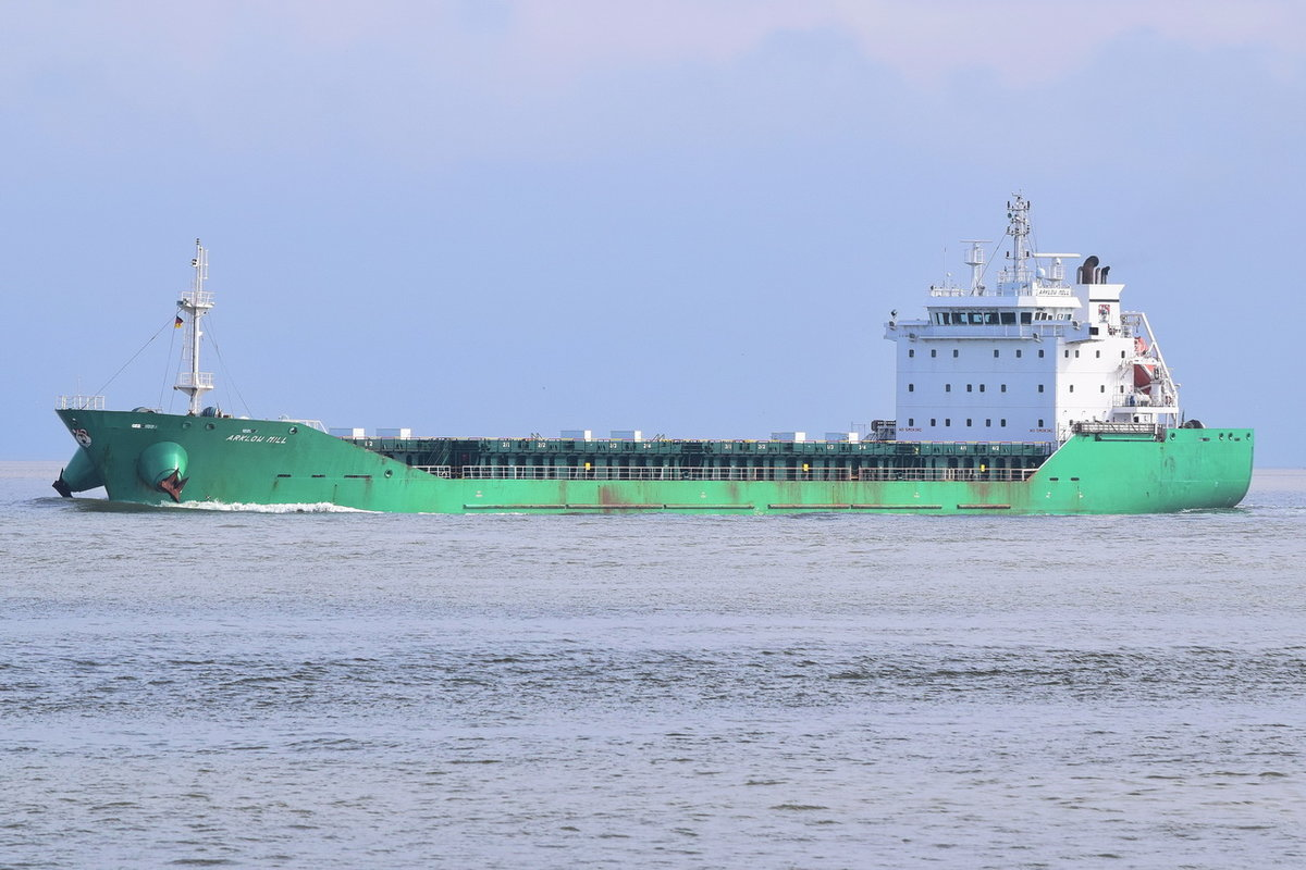 ARKLOW MILL , General Cargo , IMO 9440265 , Baujahr 2010 , 136.5 × 21m , 16.09.2017 Cuxhaven