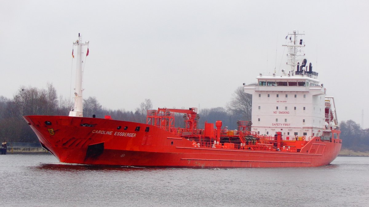 CAROLINE ESSBERGER - IMO= 9439151 - Bj.= 2009 - 8792 To. -am 25.02.2017 in Rendsburg