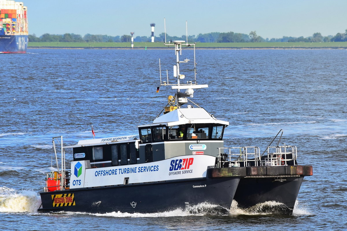 COMMODORE P , High Speed Craft , MMSI 235097729 , 18 x 6m , Cuxhaven , 02.06.2020