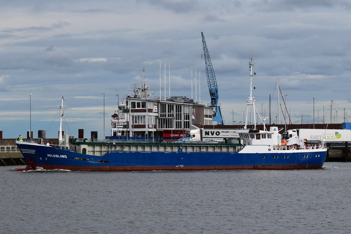 HELGOLAND , General Cargo , IMO 6417657 , Baujahr 1964 , 45.52 × 7.5m , 14.09.2017 Cuxhaven