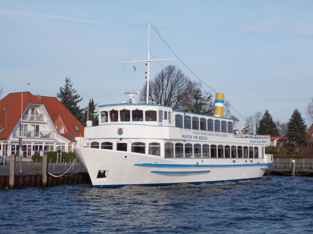 Im heimathafen breege lag das fahrgastschiff wappen von for Ms wappen von juist technische daten