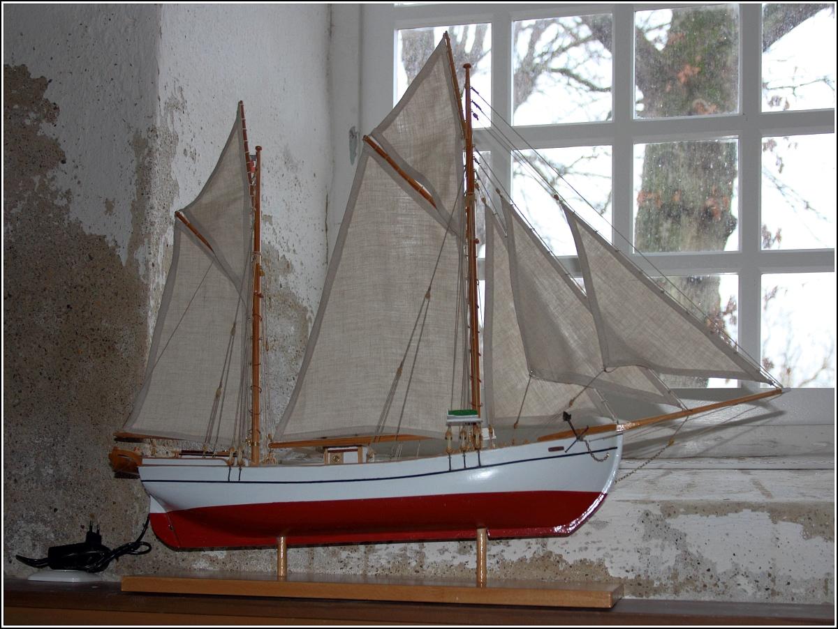 votivschiff santa cruz in der schifferkirche in bad arnis. Black Bedroom Furniture Sets. Home Design Ideas
