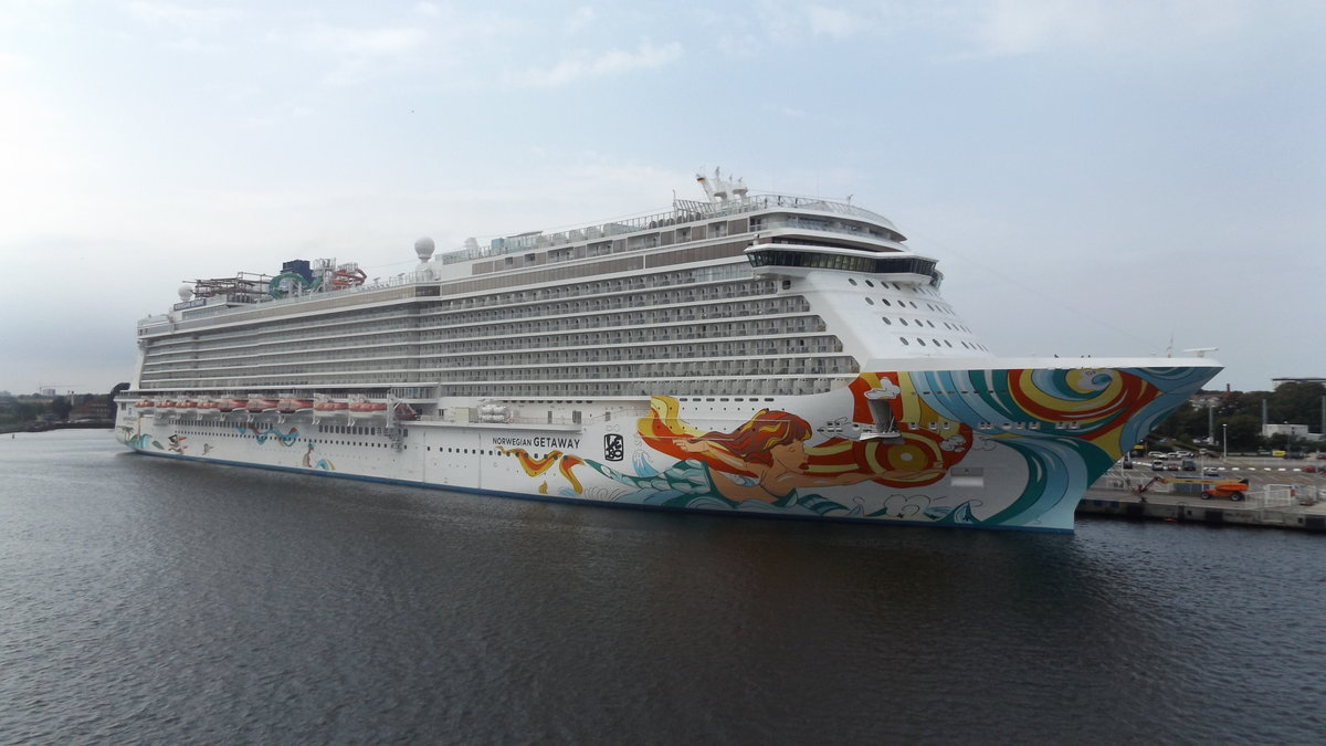 Norwegian Getaway24.8.2017 in Warnemünde