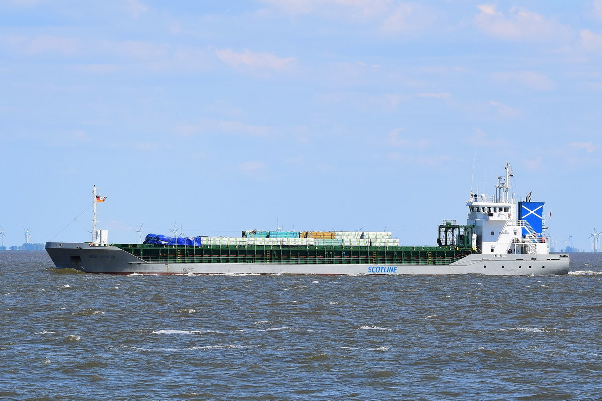 Scot Leader , General Cargo , IMO 9404235 , Baujahr 2007 , 89.96 × 15.28m , Cuxhaven , 15.05.2019