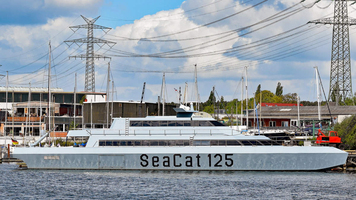 SEACAT 125 (MMSI:211757350)am 5.5.2019 in Lübeck