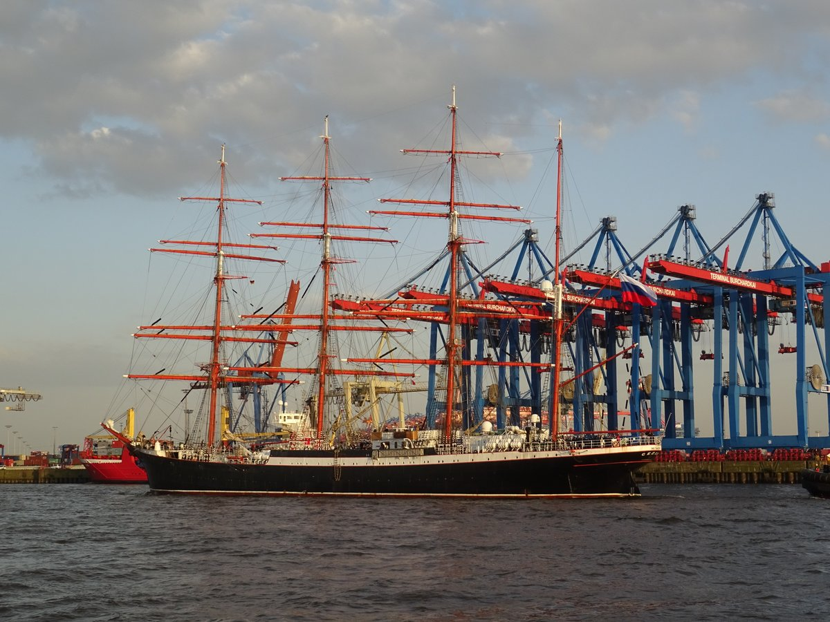 SEDOV in Hamburg 09.05.18