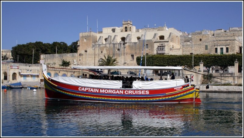 die maryanne geh rt zur flotte der captain morgan cruises auf malta und wird f r. Black Bedroom Furniture Sets. Home Design Ideas