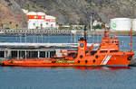 Versorgungsschiff PUNTA SALINAS (IMO: 7931894) am 11.02.2017 im Hafen von Santa Cruz de Tenerife