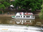 SIR WILLIAM PULTENEY am 19.6.2016, Rundfahrtschiff auf dem River Avon  in Bath (UK) /