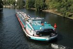 TMS Fueltrans , 06000279 , 82 x 8,20m , am 16.09.2016 auf der Spree in Berlin-Charlottenburg zw.