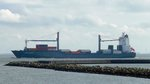 Containerschiff  Ludwig Schulte  in Cuxhaven, 10.9.2015