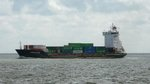 Containerschiff  Conmar Elbe  in Cuxhaven, 10.9.2015