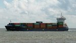 Containerschiff  Conmar Avenue  in Cuxhaven, 10.9.2015