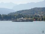 Das Ausflugsschiff  Stadt Luzern  auf den Vierwaldstättersee in Luzern (September 2011)