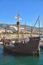 SANTA MARIA DE COLOMBO am 22.01.2018 in Funchal / Madeira