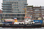 Schlepper FALCKENSTEIN am 9.2.2020 in Kiel