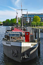 Theaterschiff MARIE am 11.5.2019 in Lübeck