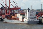 Containerschiff BEATE am 29.08.16 in Bremerhaven