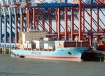 Containerschiff Nysted Maersk am 29.08.16 in Bremerhaven