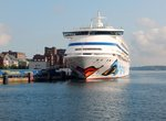 AIDAAURA am 27.8.16 in Kiel
