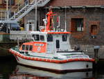 Das 10m lange SAR Boot HERTHA JEEP am 25.10.19 in Stralsund